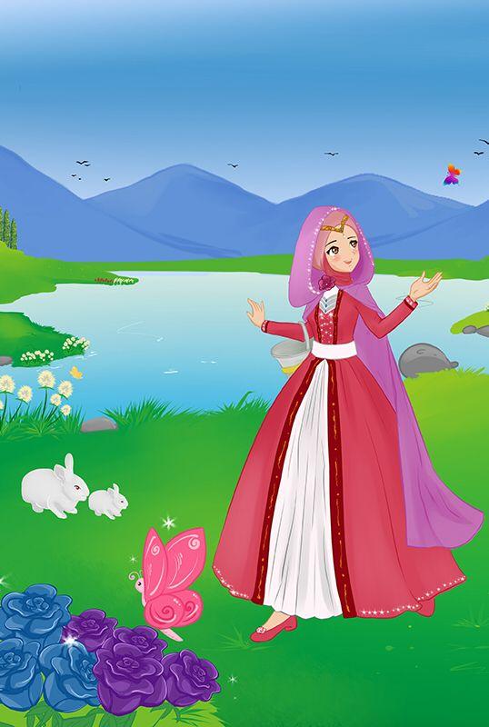 Gratitude Muslimah Cartoon Muslim T