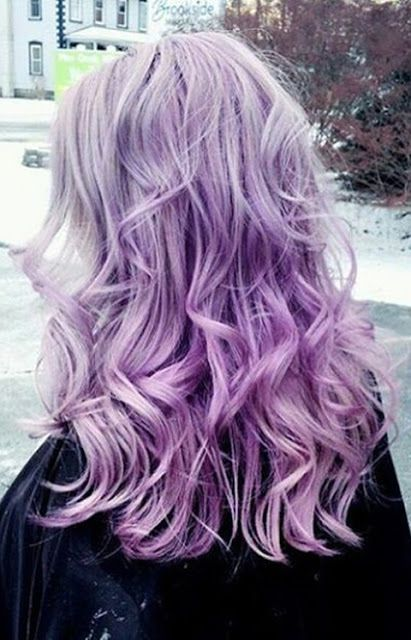 purple trendy hair goals