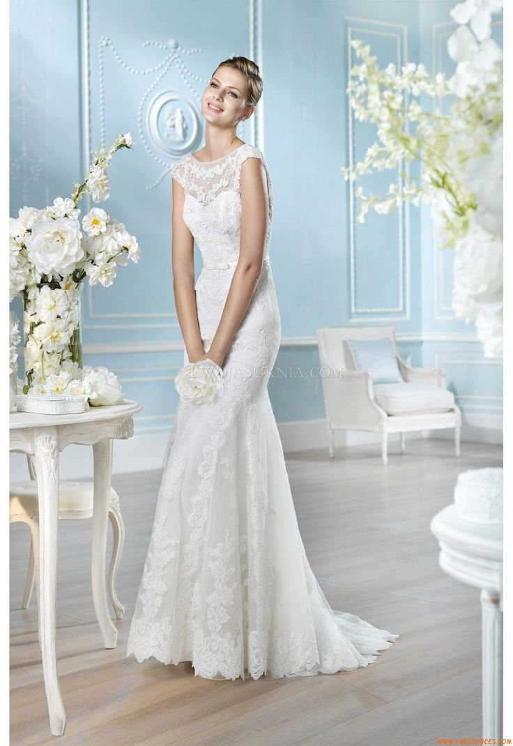 192 best Robe de mariée glamour images on Pinterest   Wedding frocks ...