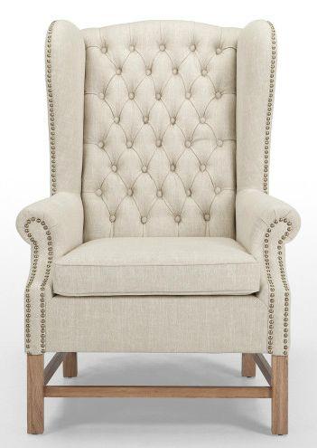 Der Feine Manor Sessel Könnte Auch In Der Lounge Eines Englischen  Country Clubs Stehen.