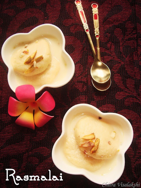 5 5 Rasmalai Indian Cottage Cheese Dessert Review My