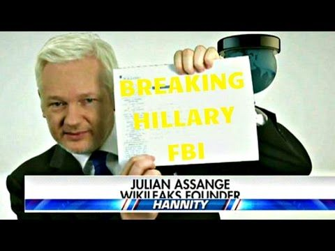 - Wikileaks Just Showed PROOF ON LIVE TV That HILLARY LIED & THE FBI COVERED IT UP !! - don't forget to subscribe. - website : http://www.infiniteflames.com/...