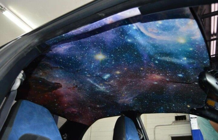 Galaxy Headliner Galaxy Themed Cars Pinterest Cars