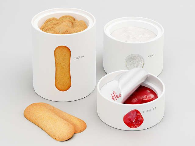 100 Examples of Innovative Food Packaging - From Stovetop-Inspired Cookies to Wild Dairy Branding (TOPLIST)