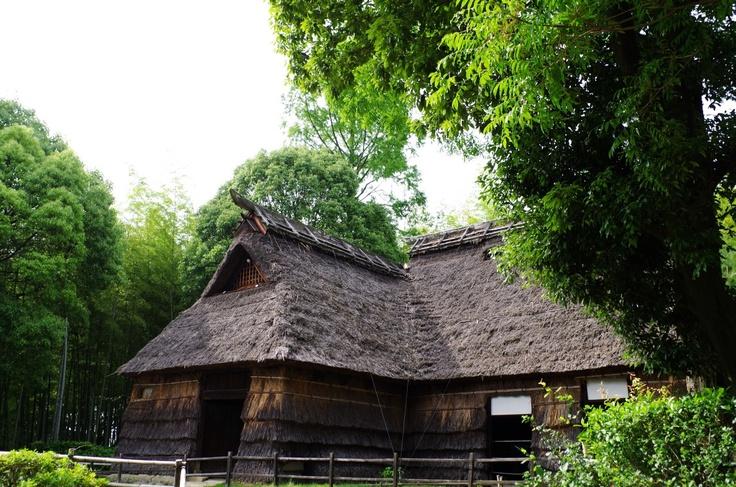 Farm house from Akiyama, Nagano