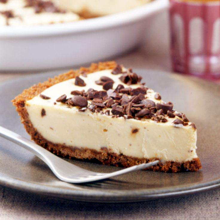 14 pts Chocolate Chip Peanut Butter Pie Recipe | Weight Watchers