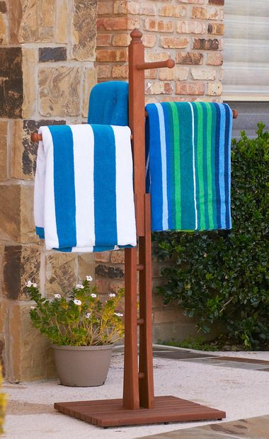 4-Rung Towel Holder