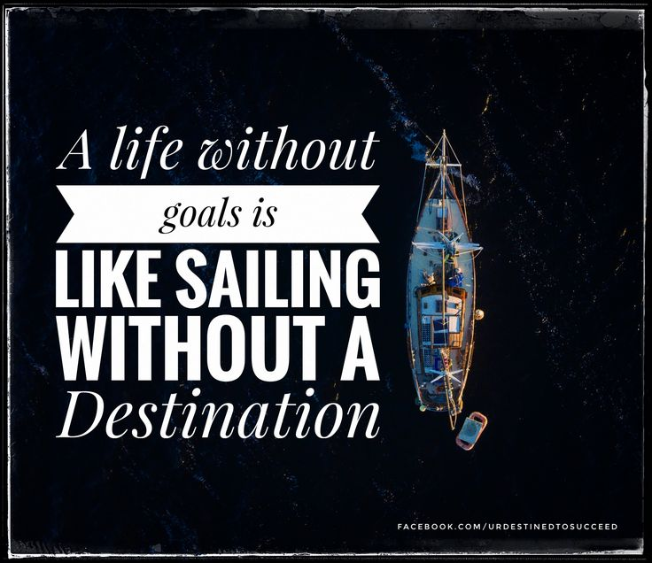 Set your goals!