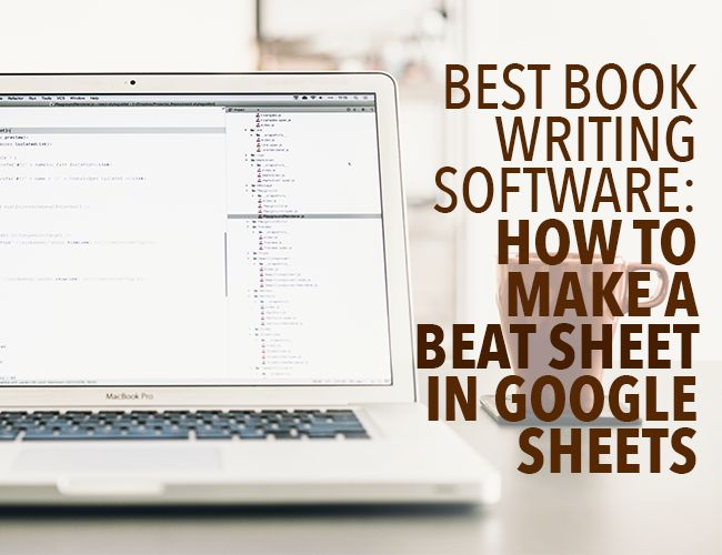 How to write a novel software