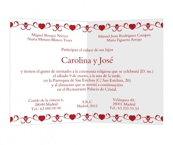 Sursum corda #invitaciones #boda