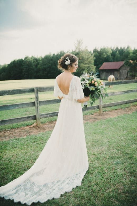 Southern Rustic Farm Wedding - Rustic Wedding Chic