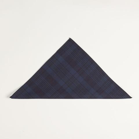 Mens Cotton Pocket Square - Crossing Shapes by VIDA VIDA nGnWjtKks