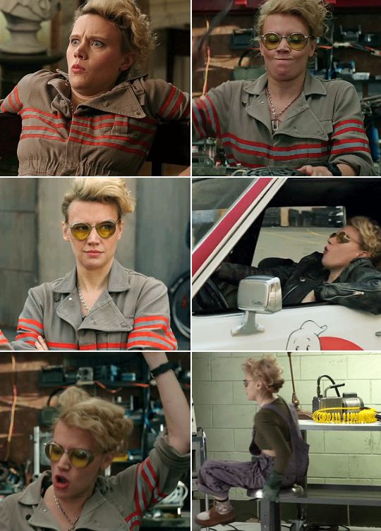 """Yes, this is the closest character to my actual self that I've ever played""- Kate McKinnon #ghostbusters>> I love her so much"