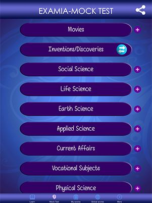 Examia – General Knowledge Exam Kit app helps you in preparing for competitive exams . This has a learn module with sharing question option and mock test series. Examia – General Knowledge Exam Kit app is an exclusive app for students and job seekers. We can make your exam preparations and interviews a much easy job and paper free. http://examia.in/#iPad  #iPad #Examia #Learningapp