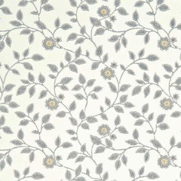 Beställ Flowerdene vit/neutral/beige/grå tapet från Baker®