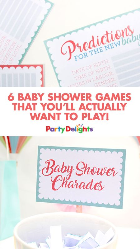 6 Baby Shower Games That Youu0027ll Actually Want To Play