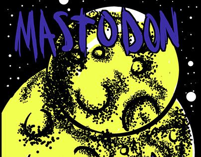 "Check out new work on my @Behance portfolio: ""MASTODON GIGPOSTER"" http://be.net/gallery/50352047/MASTODON-GIGPOSTER"