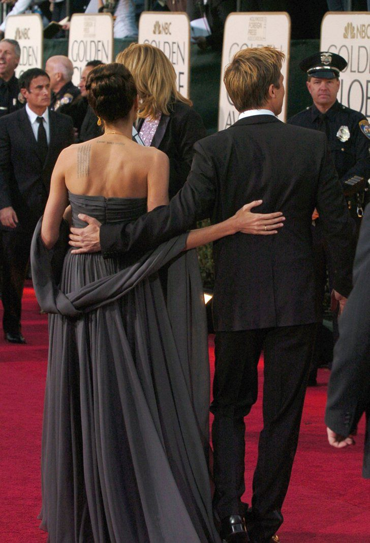 The Way They Were 31 Times Brad Pitt And Angelina Jolie Showered Each Other With