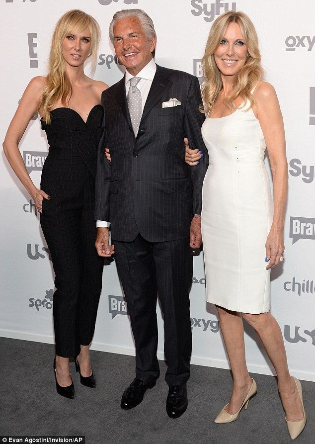 Matching: It seemed stars of new E! series Stewarts and Hamiltons Kimberly Stewart, George...