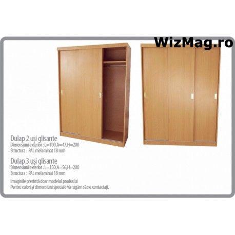 Dulap cu 3 usi glisante WIZ 0053