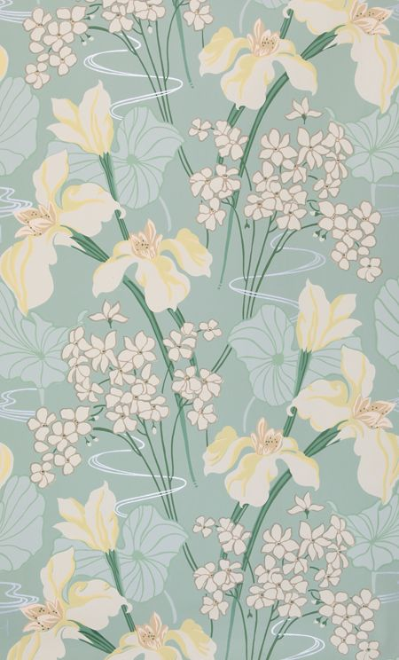 1920's to 1930's American Wallpaper