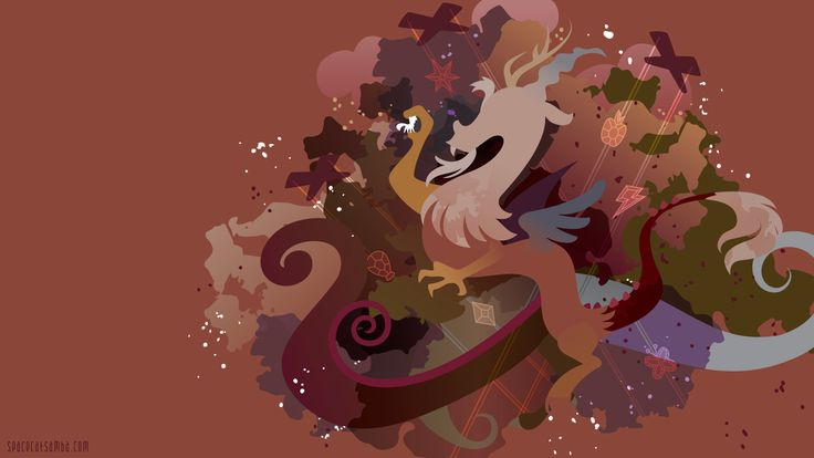 Discord Silhouette Wall by SpaceKitty.deviantart.com on ...