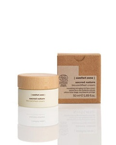 davines [comfort zone] bio-certified day cream..using for only 3 days along with eye cream-gel...there is a difference already in my skin! Hi-qual products!