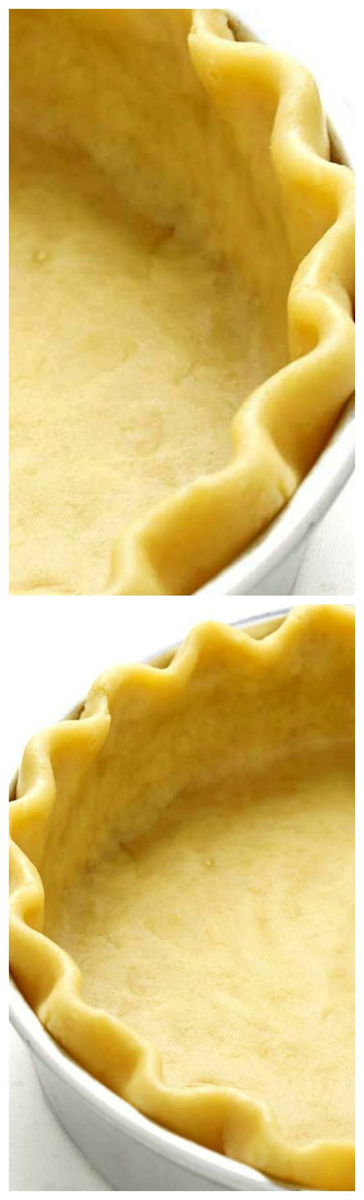 Homemade All Butter Pie Crust ~ Flaky, buttery and good enough to eat without any filling at all …