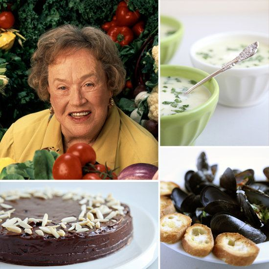7 of our favorite Julia Child recipes vetted by YumSugar's editors! Happy Birthday, Julia. #cookforJulia