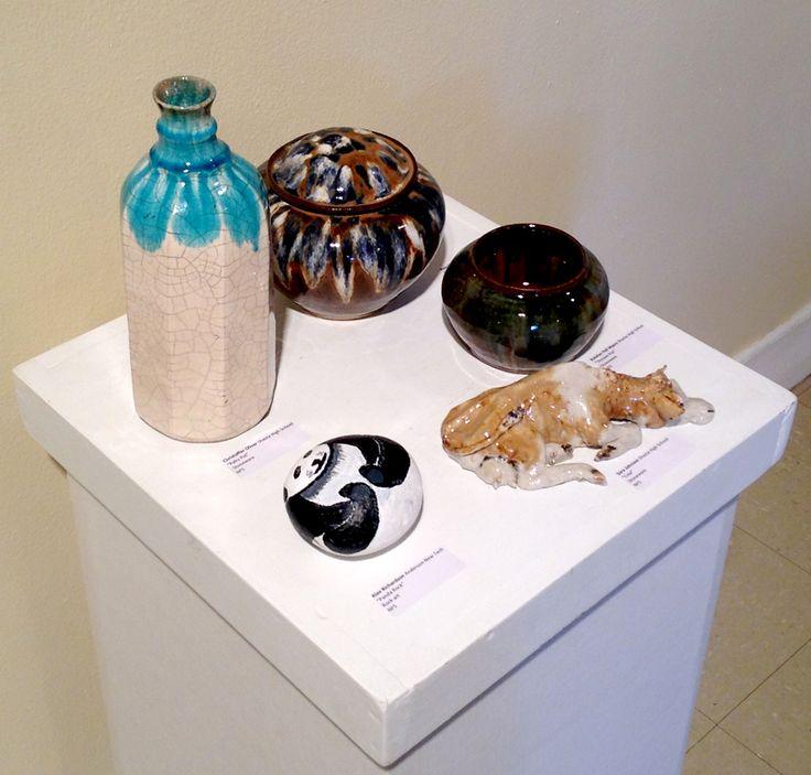 Entries in the juried show annual high school art