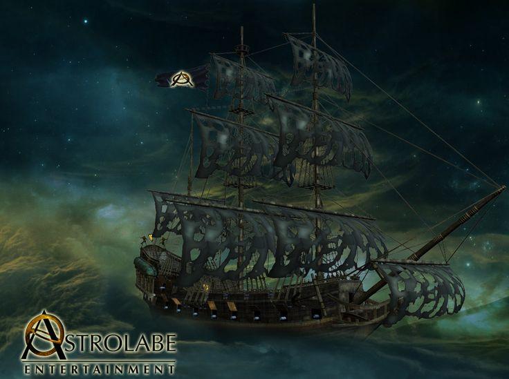 Astrolabe Ship by xxxDesmodusxxx.deviantart.com on @DeviantArt
