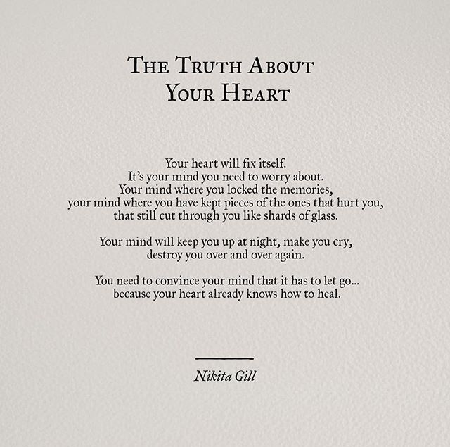 The Truth About Your Heart - Nikita Gill