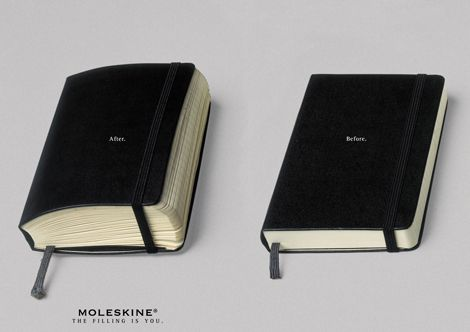 Moleskine®は2世紀の間、ヴィンセント・ヴァン・ゴッホ、パブロ・ピカソ、アーネスト・ヘミングウェイ及びブルース・チャトウィンなどの芸術家や思想家に愛されてきた伝説的ノートブックの相続人であり継承者です。丸い角を持つ黒のシンプルな長方形、ノートを束ねるゴムバンド、そして内側のマチ付きポケット: 無名だけれどもそれだけで完成された品は、小さなフランスの製本業者によって一世紀以上もの間作られ、世界中の革命的芸術家や作家が訪れて購入した、パリの文房具店に納品されていました。旅のお供にぴったりな大きさの頼れる存在。このノートブックは、有名な絵画や人気小説が世に出る前の貴重なスケッチ、走り書き、ストーリーやアイデアを記録してきたのです。