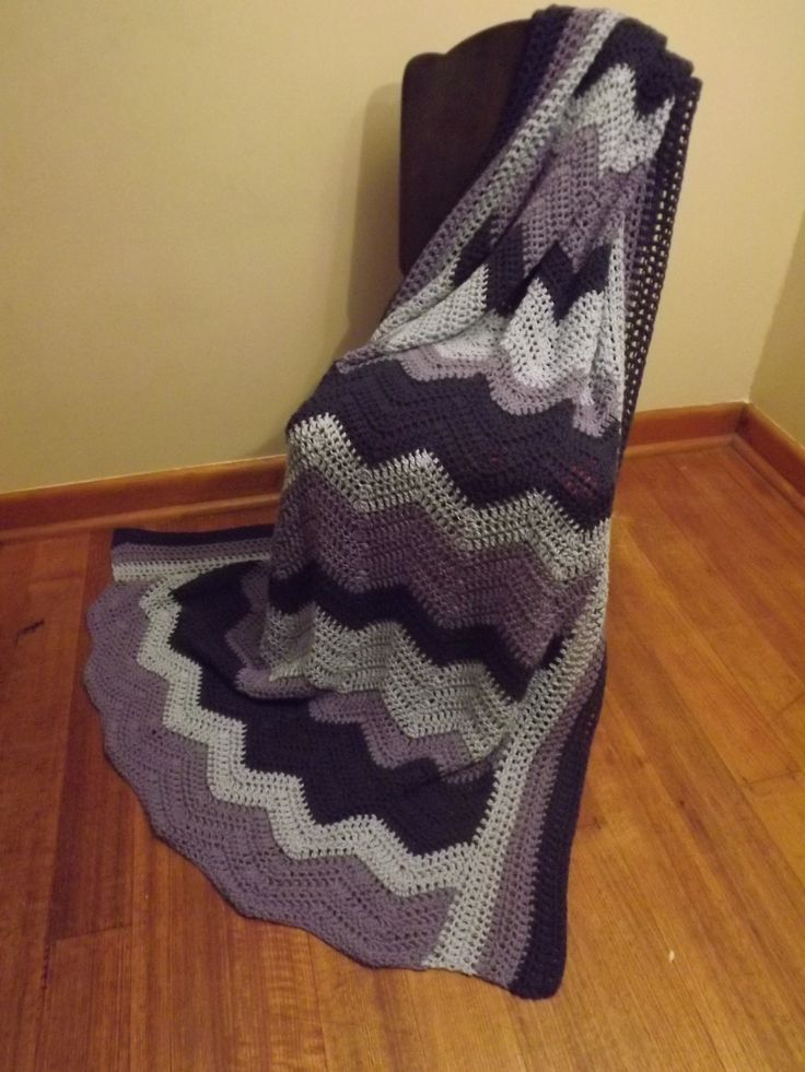 My largest project to date! A single bed size ripple blanket made with 100%cotton yarn :)  https://www.facebook.com/EMajorzCrafts