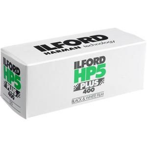 Ilford HP-5 Plus 400, 120 Size  $3.89
