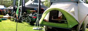 SylvanSport GO | Lightweight, Small Pop Up Campers - Camping Trailer -- I sort of love the versatility of this little pop up.  It is kind of like the swiss army knife of campers.