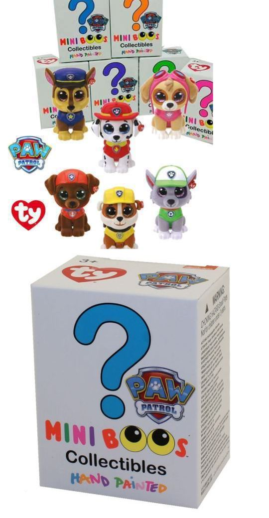 64fa6df8ac5 Beanie Babies-Original 19205  Set Of 6 Ty Mini Boo Paw Patrol Figures Chase  Skye Rocky Zuma Marshall Rubble -  BUY IT NOW ONLY   24.99 on eBay!