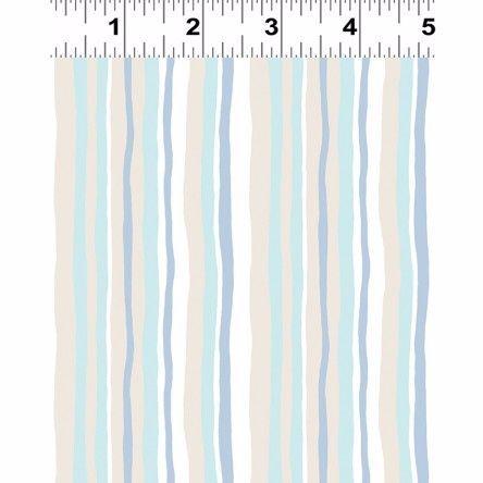 Y2064-101 Woodland Multi Stripes on Green