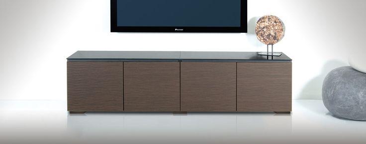 Salamander: Berlin Collection: Audio Visual Equipment Cabinet | Home Entertainment Center AV Furniture