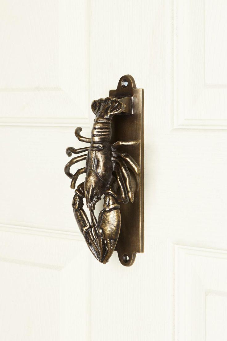 Merveilleux Lobster Door Knocker