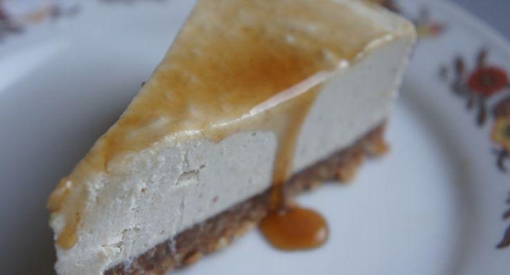 Voedzo  –  No-bake simpele cheesecake (suikervrij, zuivelvrij, glutenvrij)