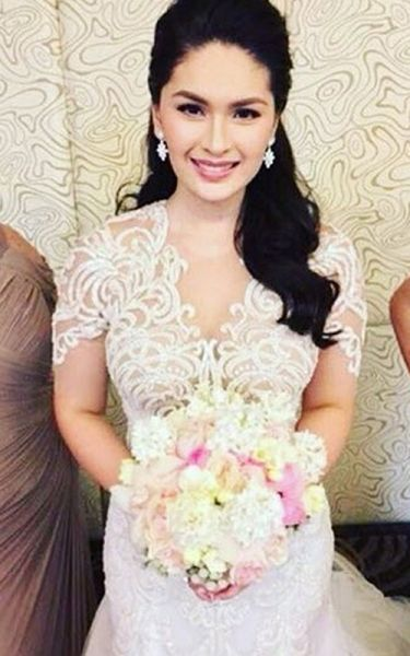 Celebrity wedding dresses in philippines today
