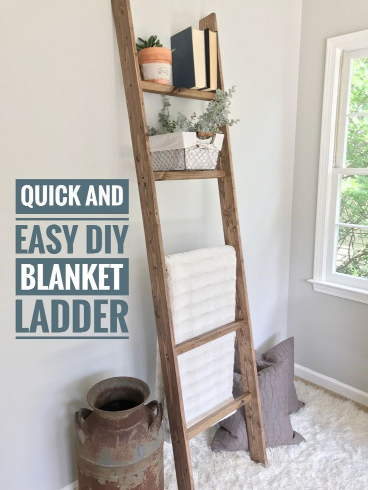 Best 25+ Decorative ladders ideas only on Pinterest   Half bathroom decor, Farmhouse furniture