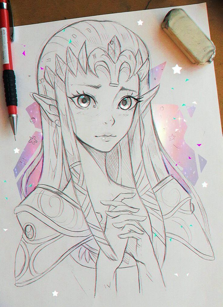 Zelda #artwork #fanart #larienne