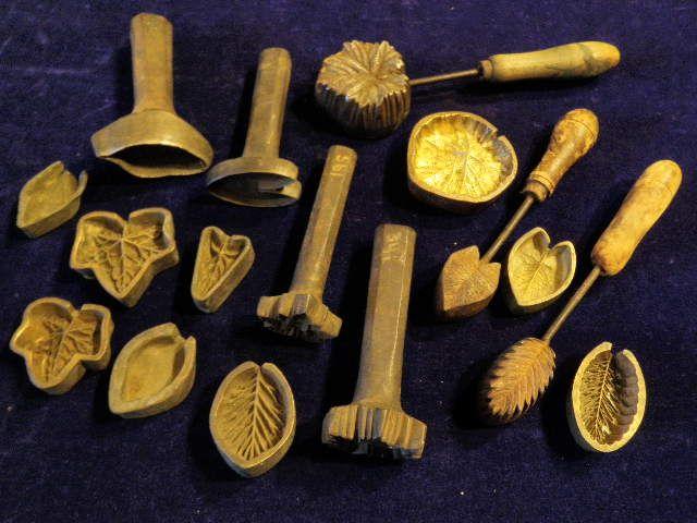 Antique Vintage Millinery Flower Leaf Cutter Trim Making Tool Metal Die Cut C   eBay