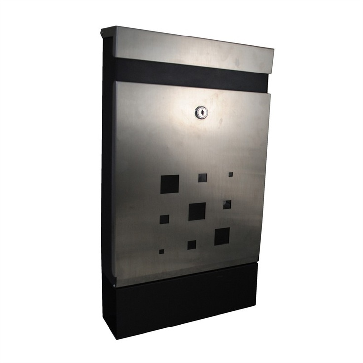 Caddy Stainless Steel Letterbox