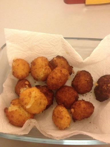 Beignets de camembert : Recette de Beignets de camembert - Marmiton