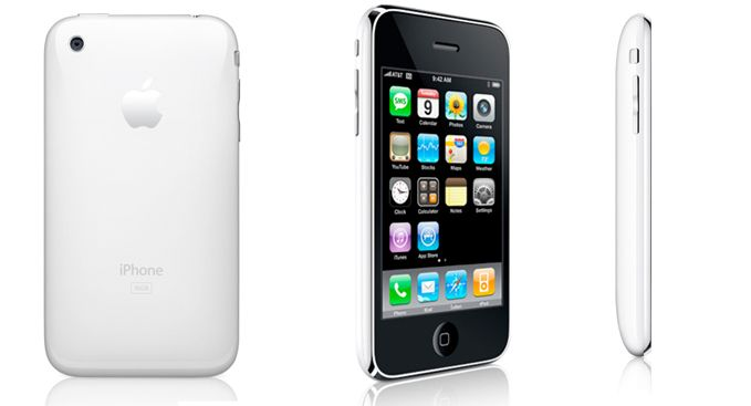 iPhone 3GS white. Don't bother with any other smart phones, unless it's by Apple :)