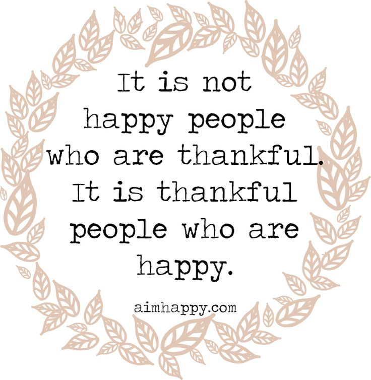 10 Things to Be #Thankful for Today - #happy people express #gratitude daily