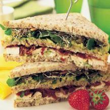 Avocado and chicken club sandwich | Readers Digest Australia
